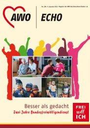 aWO-Echo 4. Quartal 2013 NR. 184 - AWO Baden