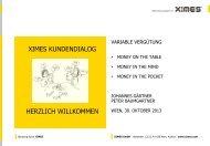von guten und schlechten arbeitszeitmodellen… - Ximes GmbH