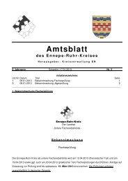 Ausgabe 3/2013 - Ennepe-Ruhr-Kreis