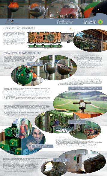 Flyer Biosphärenzentrum Schwäbische Alb - Biosphärengebiet ...