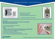 Optimierter Glucomen® Visio Sensor - Berlin-Chemie AG