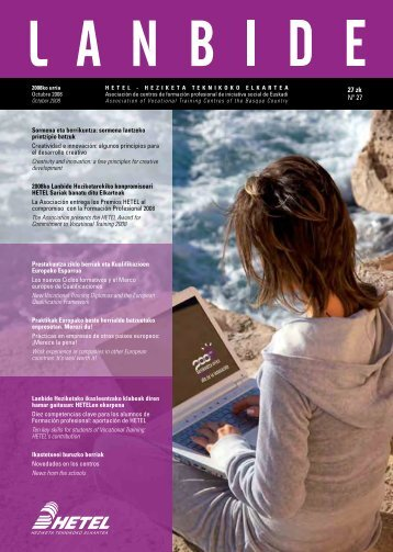 Revista completa LANBIDE 2008 - Hetel