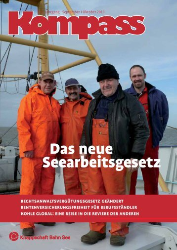 Kompass - September | Oktober 2013 (PDF/1.013 KB) - Knappschaft ...