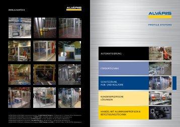 Schutzzäune, Hub- und Rolltore - Alváris Profile Systems