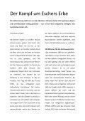 Der Kampf um Eschers Erbe - MAZ - Page 2