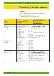 Querverweis Zürcher Lehrmittel - BERNETVerlag