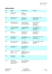 Referenzliste - Leutwyler Elektro AG