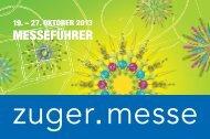 Messeführer 2013 - Zuger Messe