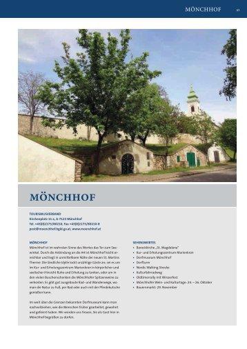 Pannonische Gastgeber 2014 - Mönchhof bis Winden am See