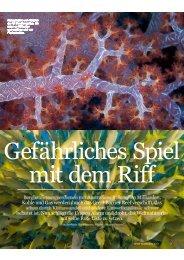 Kohle und Gas werden durch das Great Barrier ... - WWF Schweiz