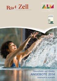 unser Unterkunfts- und Angebotskatalog 2014 - Tourismusverband ...