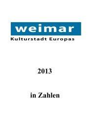 Faltblatt 2013 - Stadt Weimar