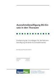 Grundlagenbericht (PDF, 34 Seiten, 3 MB) - Amt für Landschaft und ...