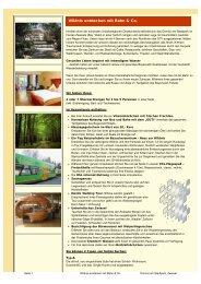 Wildnis entdecken mit Bahn & Co - Bayerwald Ticket