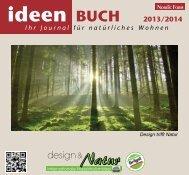 NEU !! Ideen-Buch 2013/2014 - design & Natur