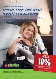 «MEIN TIPP: DAS NEUE KOMPETENZSTUDIO ... - Delta Möbel