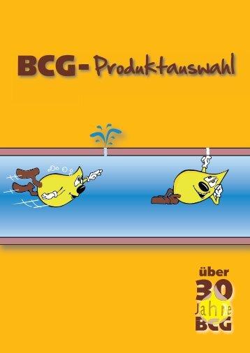 BCG-Produktauswahl - bei BCG