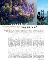 """""""Horch, die Lerche singt im Hain"""" - Die Deutsche Bühne"""