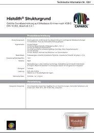 Technische Information Nr. 1051 - Caparol