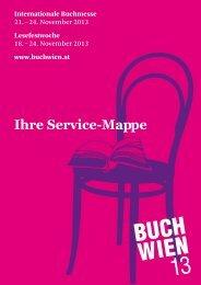 Servicemappe BUCH WIEN 13