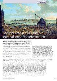 Von der Frankenfurt zum europäischen Verkehrsknoten - Forschung ...