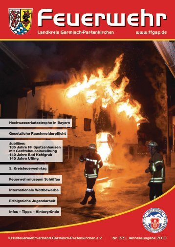 einsätze - Feuerwehren des Landkreises Garmisch-Partenkirchen