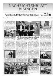 40 Umbruch_Leerumbr.qxd - Gemeinde Bisingen