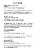 Bildunterschriften und Provenienzen zu den ausgestellten Werken - Page 6