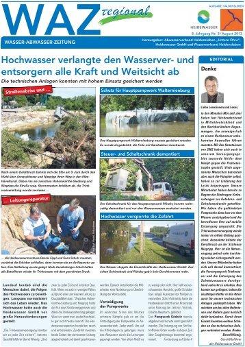 Ausgabe Haldensleben - Heidewasser GmbH