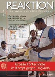 Grosse Fortschritte im Kampf gegen HIV/Aids - Médecins Sans ...