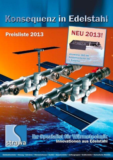 Edelstahl-Heizkreisverteiler strawa e-class 6307 7-HK