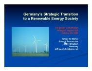 Germany's Strategic Transition to a Renewable Energy ... - Heuersdorf