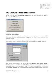 PC CADDIE - Kurzbeschreibung