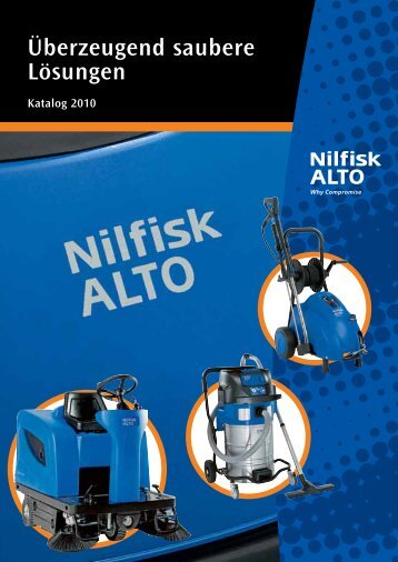Nilfisk Alto Katalog 2010 - Heupel GmbH