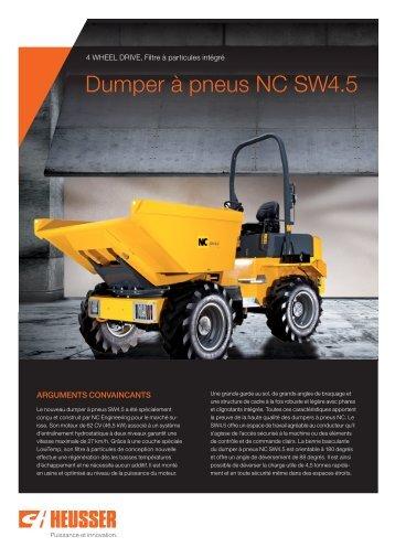 Dumper à pneus NC SW4.5 - Carl Heusser AG