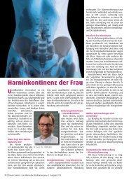 Harninkontinenz der Frau_Forum Sanitas_2 ... - Klinik Tettnang