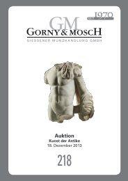 Auktion - Gorny & Mosch GmbH