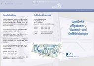 Klinik für Allgemein-, Viszeral- und Gefäßchirurgie - Klinikum Region ...