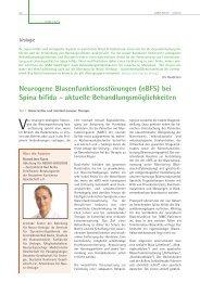 Neurogene Blasenfunktionsstörungen (nBFS) bei Spina ... - ASbH