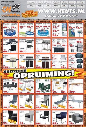 OPRUIMING! - Heuts