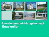Demografischer Wandel - Gemeinde Heusweiler