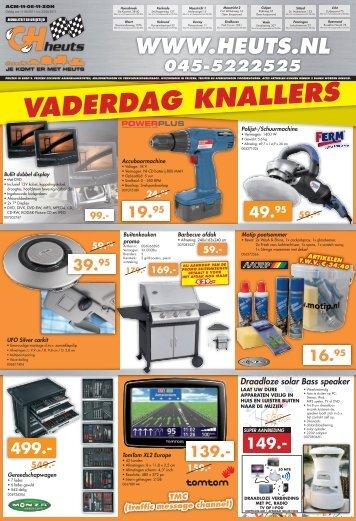 VADERDAG KNALLERS - Heuts