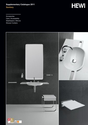 Supplementary Catalogue 2011 Sanitary - RIBA Product Selector