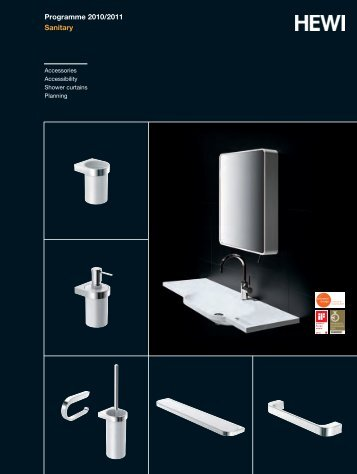 Programme 2010/2011 Sanitary - HEWI