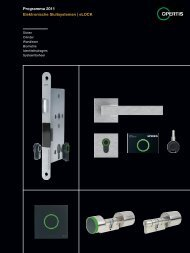 Programma 2011 Elektronische Sluitsystemen   eLOCK P ro ... - HEWI