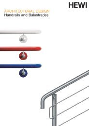 Handrails and Balustrades - RIBA Product Selector