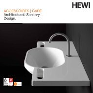 ACCESSOIRES | CARE Architectural. Sanitary. Design. - HEWI