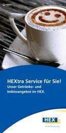 Angebot und Preise - HEX