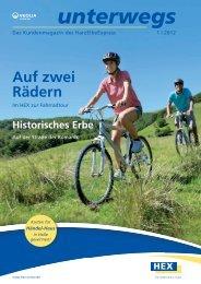 unterwegs Frühjahr 2012 - HEX