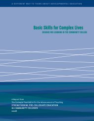 Basic Skills For Complex Lives - CSU Data Collection Index